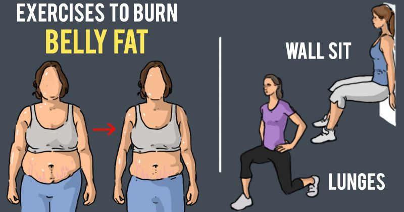 7 Easy Belly Fat Exercises You Can Do At Home To Reduce Your