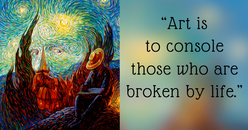 18 Quotes And Paintings By Vincent Van Gogh That Show Love