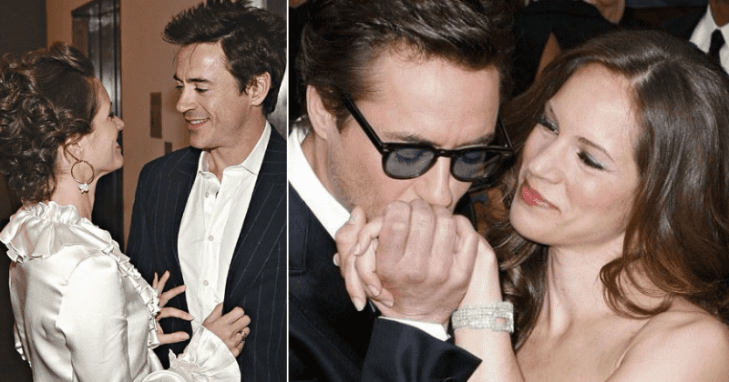 Image result for Robert Downey Jr. and Susan Levin