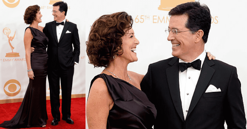Stephen Colbert Reveals The Moment He Knew Evelyn Mcgee Was The One He Wanted To Spend The Rest Of His Life With